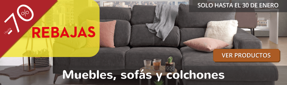 Sofás Colchones Muebles Decoración Y Electrodomésticos En